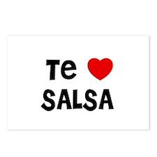 Te * SALSA Postcards (Package of 8)