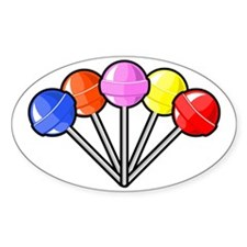 colorful lollipops Decal