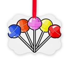 colorful lollipops Ornament