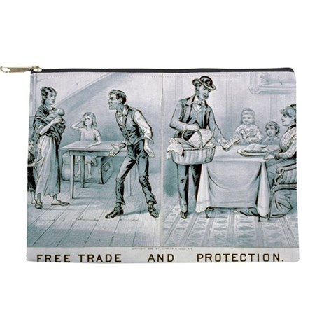 Free trade and protection - 1888 Makeup Pouch
