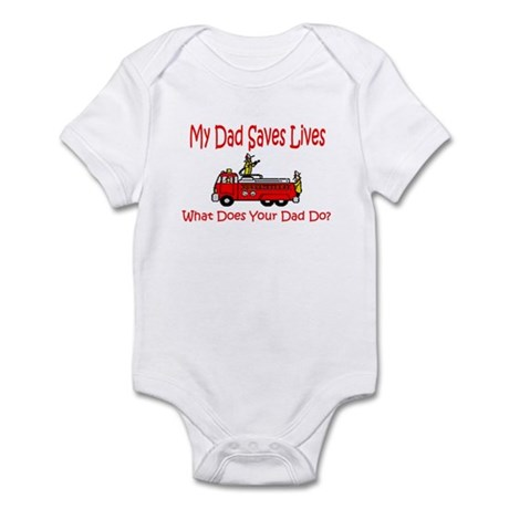dad saves lives Body Suit