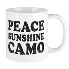 Peace Sunshie Camo Mug