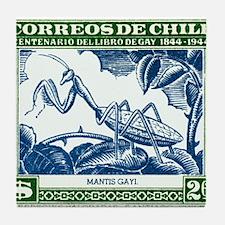 Antique 1948 Chile Praying Mantis Postage Stamp Ti