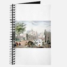 Gate of Belen Mexico - 1848 Journal