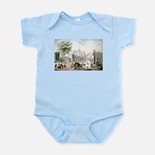 Gate of Belen Mexico - 1848 Infant Bodysuit