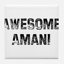 Awesome Amani Tile Coaster