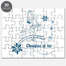Personalized Ice Skater Puzzle