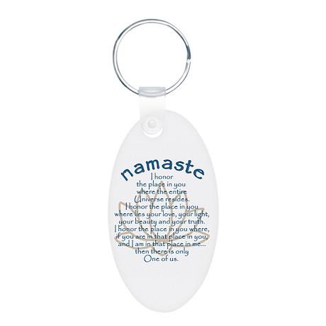 Namaste Keychains