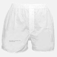 Running Girls Boxer Shorts