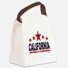 California Anything 'N' Everythin Canvas Lunch Bag