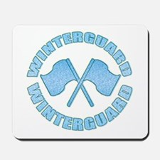 Vintage Winterguard Blue Mousepad