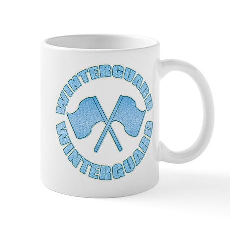 Vintage Winterguard Blue Mug