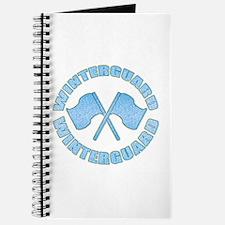 Vintage Winterguard Blue Journal