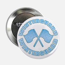 """Vintage Winterguard Blue 2.25"""" Button (10 pack)"""