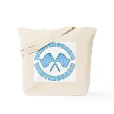 Vintage Winterguard Blue Tote Bag