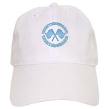 Vintage Winterguard Blue Baseball Cap