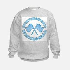 Vintage Winterguard Blue Sweatshirt