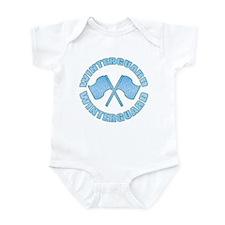 Vintage Winterguard Blue Infant Bodysuit