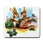 BUNNY PATCH Mousepad