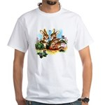 BUNNY PATCH White T-Shirt