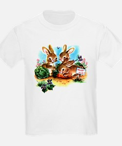 BUNNY PATCH Kids T-Shirt