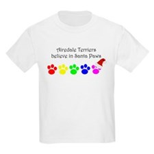 Airedale Terriers Believe Kids T-Shirt