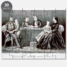 General Grant and family - 1867 Puzzle