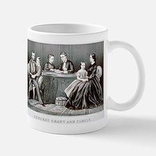 General Grant and family - 1867 Small Mug