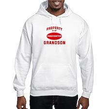 GRANDSON Firefighter-Property Hoodie