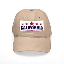 California U.S.A. Baseball Cap