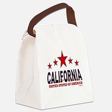 California U.S.A. Canvas Lunch Bag