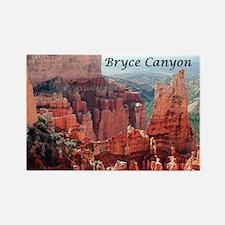 Bryce Canyon, Utah, USA 5 (captio Rectangle Magnet