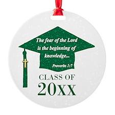 Christian Graduate Ornament