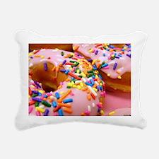 Donut/Doughnut Rectangular Canvas Pillow