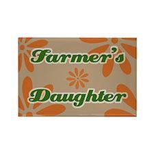 Farmer's Daughter Rectangle Magnet