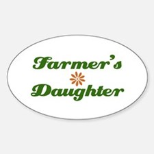 Farmer's Daughter Oval Decal