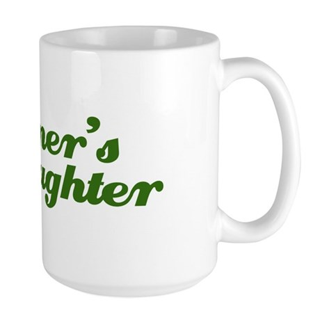 Farmer's Daughter Large Mug
