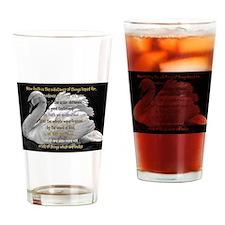 Swan Faith understood Drinking Glass