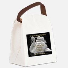 Swan Faith understood Canvas Lunch Bag