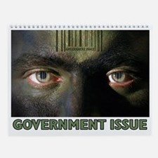 """""""Government Issue"""" Wall Calendar"""