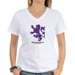 Lion - MacGregor of Glengyle Women's V-Neck T-Shir
