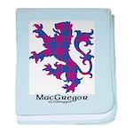 Lion - MacGregor of Glengyle baby blanket