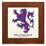Lion - MacGregor of Glengyle Framed Tile