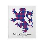 Lion - MacGregor of Glengyle Throw Blanket