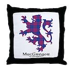 Lion - MacGregor of Glengyle Throw Pillow
