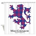 Lion - MacGregor of Glengyle Shower Curtain