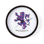 Lion - MacGregor of Glengyle Wall Clock