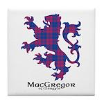 Lion - MacGregor of Glengyle Tile Coaster