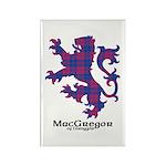 Lion - MacGregor of Glengyle Rectangle Magnet (10