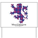 Lion - MacGregor of Glengyle Yard Sign